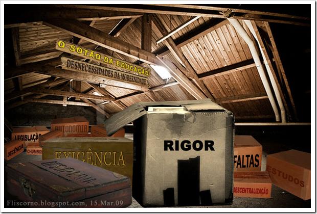O sótão da educação
