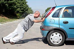 Empurrar Carro Aventar