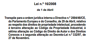 Lei n.º 16/2008