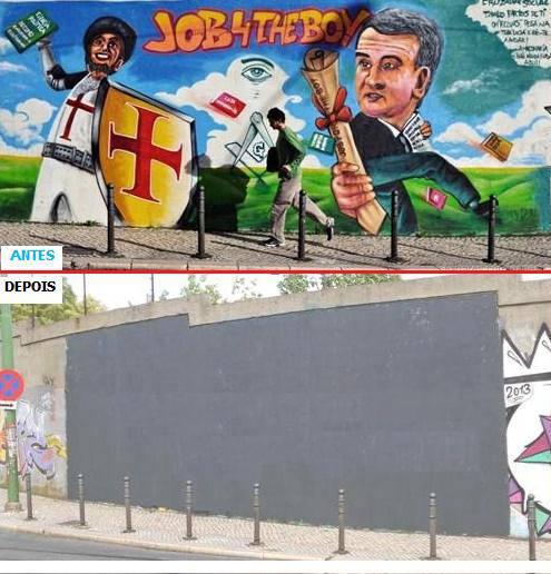 censura mural