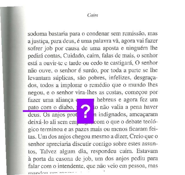 Saramago, Caim, Caminho, 2011.