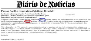 ronaldo passos