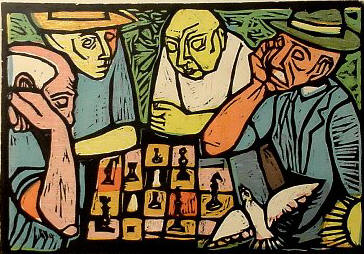 Irving Amen xadrez