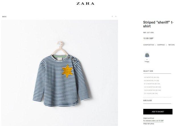 pijama_zara_golden_star