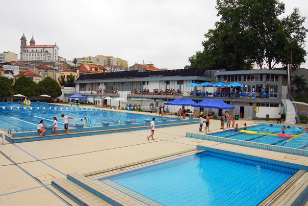 Piscina de campanh aventar for Piscine porto portugal