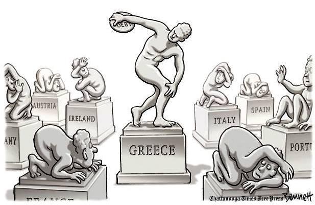 grecia discobolo