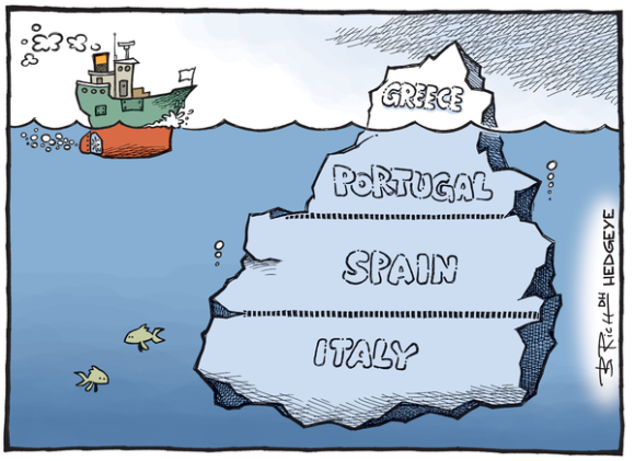 Cartoon Greece