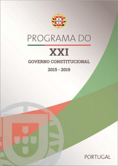 2015-11-27 Programa XXI Governo Constitucional