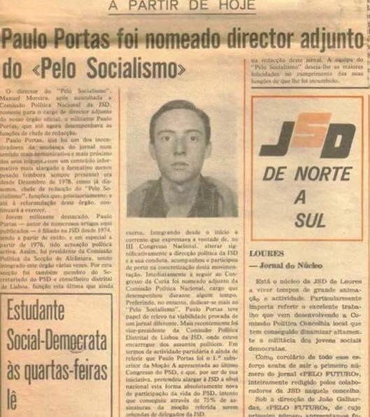Portas JSD socialismo
