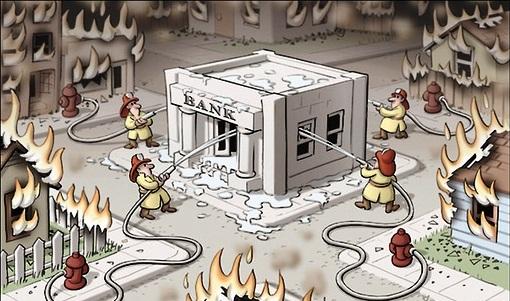 salvar bancos