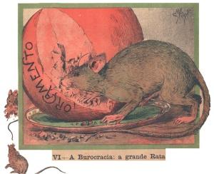 A Burocracia, de Rafael Bordalo Pinheiro