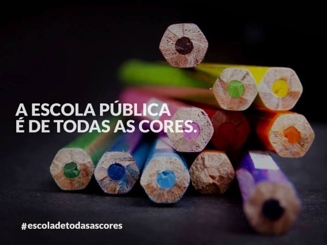 escola de todas as cores