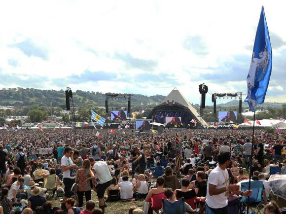Festival de Glastonbury, Reino Unido