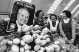 1991-01-08 Mercado em Matosinhos, durante uma campanha Presidencial