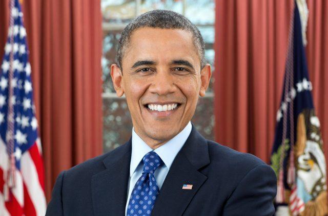 Retrato oficial do Presidente Barack Obama na Sala Oval da Casa Branca, 6 de Dezembro de 2012, por Pete Souza