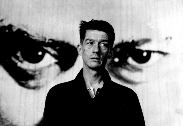 John Hurt as Winston Smith. His own personal sadness helped him